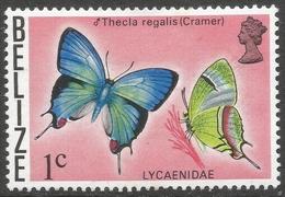 Belize. 1974 Butterflies Of Belize. 1c MH SG 381 - Belize (1973-...)