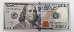 USA 100 Dollars 2013 UNC B2 - Billets De La Federal Reserve (1928-...)