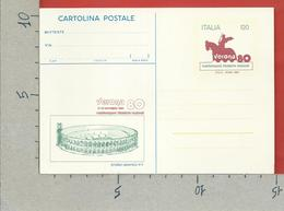ITALIA - CARTOLINA POSTALE - Verona 80 - U. CP185 - 6. 1946-.. Repubblica