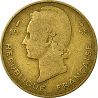 Monnaie, French West Africa, 10 Francs, 1956, TB, Aluminum-Bronze, KM:6 - Colonies