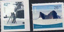 NORWAY, 2019, MNH, ANTARCTICA, SHIPS, ANTARCTIC LANDSCAPES, 2v - Polar Philately