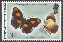 Belize. 1974 Butterflies Of Belize. 3c MH SG 406 - Belize (1973-...)
