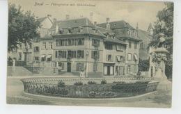 SUISSE - BASEL - Petersgraben Mit Hebeldenkmal - BS Bâle-Ville