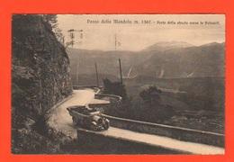 Mendelpass Passo Mendola Auto Cars Sulla Strada Delle >Dolomiti Cpa 1929 Trento - Trento