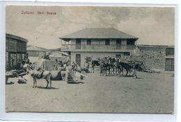 ETHIOPIE DIRE DAOUA DAWA Carte RARE   Caravane Sur Place De La Ville  1910   D02 2019 - Ethiopie