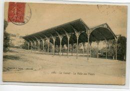 06 LE CANNET Les Halles Aux Fleurs Métal Art Nouveau Guimard No 2982 Lacour - écrite 1908 Timbrée    D02 2019 - Le Cannet