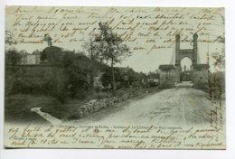 24 GROLEJAC Environs Sarlat  Le Chateau Pont Suspendu Route No 66 édit Daudrix  1902 écrite Timb   D02 2019 - France