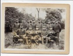 22 ème Régiment , Belle Photo De Groupe Recto Et Un Des Leurs En Verso - War, Military