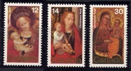 CANADA - N° 682/684** - TABLEAUX RELIGIEUX - 1952-.... Règne D'Elizabeth II