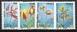 France 2008 Préoblitérés N° 253/256 Neufs Orchidées à 20% De La Cote - Préoblitérés