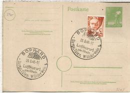 ALEMANIA OCUPACION 1948 BOPPARD UVA WINE VINO GRAPE LUFTKUROR - Vinos Y Alcoholes