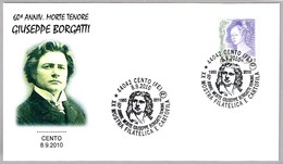 60 Aniv. Muerte TENOR GIUSEPPE BORGATTI. Cento, Ferrara, 2010 - Musica