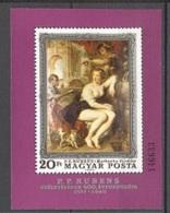 Hongrie   Yvert  BF  129   * *  TB  Peinture  Rubens - Blocs-feuillets