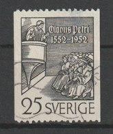 MiNr. 367C Schweden 1952, 19. April. 400. Todestag Des Schwedischen Reformators Olavus Petri (1493-1552). - Schweden