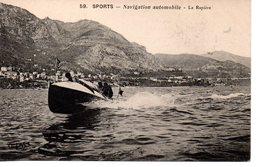 Sport : Navigation Automobile : La Rapière - Voile