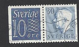 Schweden, 1957, Michel-Nr. 430 D + 427 D, Gestempelt - Schweden