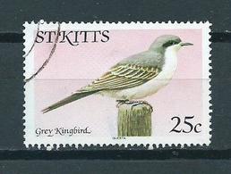 1981 St.Kitts Bird,oiseaux,vogels Used/gebruikt/oblitere - St.Kitts En Nevis ( 1983-...)