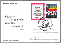 60 Años PZB (Polski Zwiazek Bokserski) UNION POLACA DE BOXEO. Warszawa, Polonia, 1983 - Boxeo