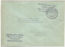 ALEMANIA HANAU KASSEL 1968 POW CORREO PRISIONEROS DE GUERRA CRUZ ROJA RED CROSS - [7] Federal Republic