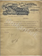 VAN DER PUTT & DE VLAM   Sigarenfabrikanten  EINDHOVEN  Brief Aan Scheurleer En Zonen 27 April 1903 - Nederland