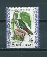 1970 Montserrat Birds,oiseaux,vogels Used/gebruikt/oblitere - Montserrat