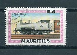 1979 Mauritius Railways,locomotive Used/gebruikt/oblitere - Mauritius (1968-...)