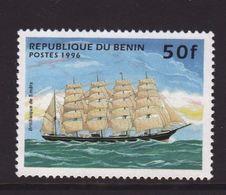 Benin 1996, Ship, Minr 799, MNH - Benin – Dahomey (1960-...)