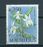 1986 Mauritius Orchids,orchidee Used/gebruikt/oblitere - Mauritius (1968-...)