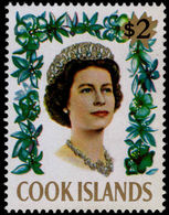Cook Islands 1967-71 $2 With Fluorescent Markings Unmounted Mint. - Cook Islands