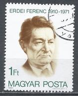 Hungary 1980. Scott #2675 (U) Ferenc Erdei (1910-71) Economist & Statesman ** - Hungary