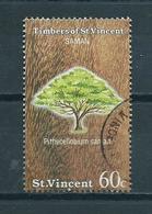 1986 St.Vincent Trees,bomen Used/gebruikt/oblitere - St.Vincent (1979-...)