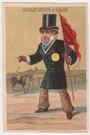 26806 Chromo Chocolat Debauve Et Gallais - Vanille Juge Hippodrome Cheval Equitation Course - Chocolat
