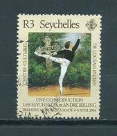 1986 Seychellen Ballet Used/gebruikt/oblitere - Seychellen (1976-...)