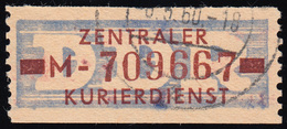 20-MII Dienst-B, Billet Braun Auf Violett, Gestempelt - DDR