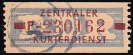 20-P Dienst-B, Billet Braun Auf Violett, Gestempelt - DDR