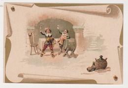 26808 Chromo Chocolat REVAULT Gourmets -cave Vin Mousquetaires -Romanet Paris - Chocolat