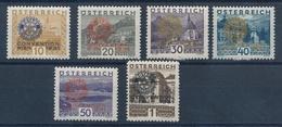 1931 Oesterreich Rotary Kongress Mint L.h. - 1918-1945 1ra República