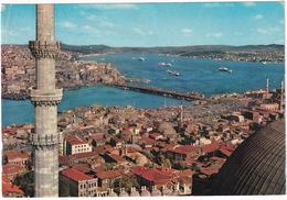 Istanbul - View Of Golden Horn, Galata Bridge And The Bosphorus - (Türkiye) - Turkije