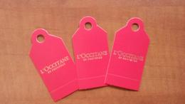 L'Occitaine Parfum Billet Lot De 3 - Perfume Cards
