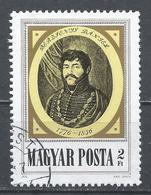 Hungary 1976. Scott #2435 (U) Daniel Berzsenyi (1776-1836), Poet ** - Hungary
