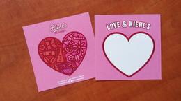 KIEHL'S Cosmetique Lot De 2 Cartes - Perfume Cards