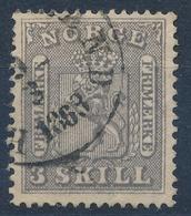 Norwegen Nr. 7 Used - Used Stamps