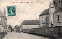/ Vassimont Et Chapelaine - Route Du Camp De Mailly - Autres Communes