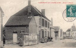 / Vassimont Et Chapelaine - Ecole Et Mairie - Autres Communes
