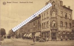"""BOMEL-NAMUR-NAMEN """"BOULEVARD DU NORD AVEC TRAM A VAPEUR-STOOMTRAM-OLD TIMER-HOTEL DU NORD """"EDIT.TORDEUR - Namur"""