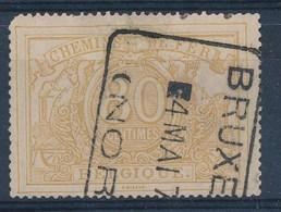 "TR 12 - ""BRUXELLES - (NORD)"" - Ronde Hoek/coin Arrondi - (ref. 26.515) - Usati"