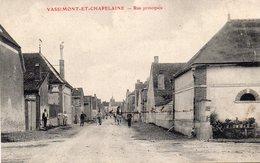 / Vassimont Et Chapelaine - Rue Principale - Autres Communes