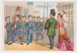 26813 Chromo Chocolat Bonbons  DEVINCK Mathurin Paris Eleve Lyceen - Chocolat