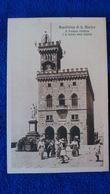 Repubblica Di S Marino Palazzo Pubblico E La Statua Della Libertá San Marino - San Marino