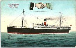 S.S. Corsican, Allan Line, 11,500 Tons - Ships